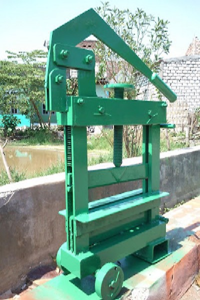 Jual mesin paving block press hidrolik Cianjur